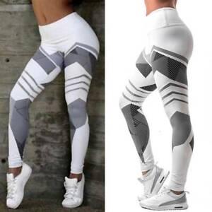 FITTOO Women Yoga Pants Ladies High Waist Leggings Sports Gym Running Fitness 14