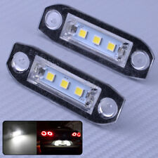2x 3-SMD LED Nummernschildbeleuchtung Lampe für Volvo S80 S60 C70 V70 XC90 Weiß