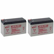 Enersys/Yuasa NP7-12 12V 7AH Battery Pack Of 2