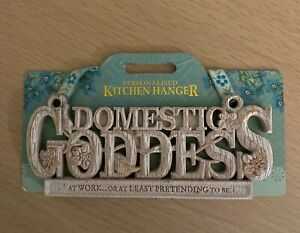 DOMESTIC GODDESS Kitchen Hanger/Plaque/Wall Decor