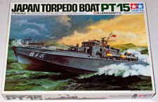 Tamiya 1/72 Japan Torpedo Boat PT-15 Model Kit, Can Be Motorized