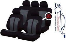 9 PCE Knightsbridge Full Set of Car Seat Covers for Kia Cee'd Picanto Sedona Rio
