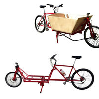 Cargo Bike Plans DIY Cycle Truck Cycling Bicycle Luggage Shopping Cart Carrier