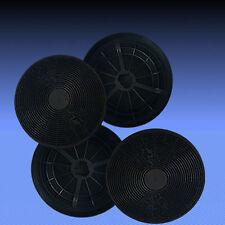 4 Aktivkohlefilter Filter für Dunstabzugshaube PKM 400 RH-8090 , 400 RH-6004