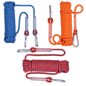 Heavy Duty Rock Climbing Rope Cord 20m 10mm 12mm Outdoor Safety Use Emergency