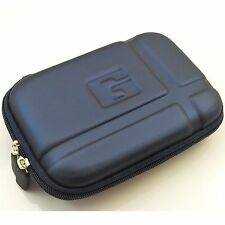 "Blue 5.2"" Inch Hard GPS Carrying Pouch Cover Case for Garmin Nuvi 1450lmt 1490"