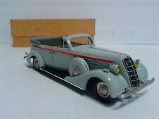 RARE 1/43 Handmade Sid 102 A cabriolet 1939 Staline Staff WHITE METAL CCCP En parfait état, dans sa boîte neuf dans sa boîte