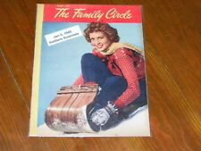 Alcoholics Anonymous Collectors! EXTREMELY RARE! Jan 5, 1945 THE FAMILY CIRCLE!!