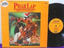 PHAR LAP Hero To A Nation LP ~ RARE PROMO Sample Soundtrack EMI AUSTRALIA NM!!