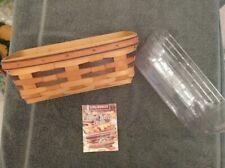 Longaberger 1998 Shades of Autumn Baker's Bounty Basket