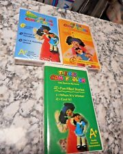 Lot of 3 Big Comfy Couch Vhs Fun filled stories Winter Cool it Count New