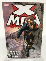 X-Man The Man Who Fell to Earth Cable More Marvel Comics TPB Trade Paperback New