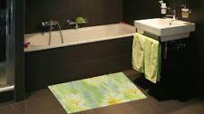 Bathroom Mat Moonwalk Floral Design 377 Water Absorbent 65x150cm