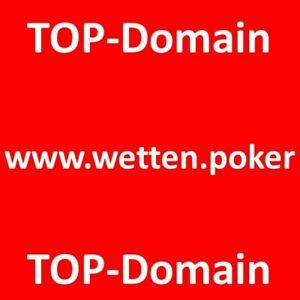Domain  wetten.poker