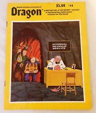 TSR Dragon Magazine Issue #48 Doctor Yes Druid & Adv Underwater VG D&D
