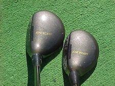 Daiwa Exceler Lady Graphite Golf Clubs used Woods Set 3 & 5 RH w New Tour Grips
