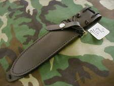 "RANDALL KNIFE KNIVES SHEATH FOR MODEL #14,#18-7 1/2"" BLACK, CAUTION DON'T  #9676"