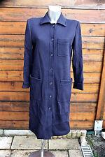 luxueux coat manteau drap de laine YVES SAINT LAURENT rive gauche taille 38-40