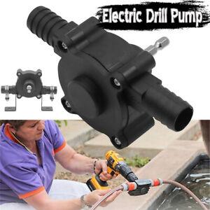 Hand Electric Drill Drive Self Priming Pump Oil Fluid Water Transfer Pumps Tool