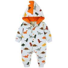 Toddler Infant Boys Girl Dinosaur Outfits Romper Jumpsuit Pajamas Casual Costume