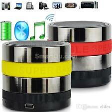 Mini Portable Bluetooth Speakers Metal Steel Wireless  SPEAKER FOR PC IPHONE PAD
