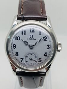 Vintage Rare Omega Sub Second Stainless Steel Hand Winding 2450-5