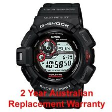 CASIO G-SHOCK MUDMAN WATCH G-9300-1 FREE EXPRESS SOLAR G-9300-1DR 2YEAR WARRANTY