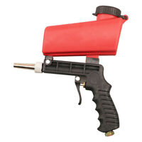 Small Handheld Pneumatic Sand-blasting Gun Portable Rust Removing Sprayer
