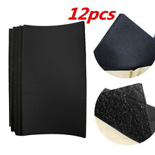 12 Sheets x Vehicle Insulation Opened Cell Foam Sheet 10mm