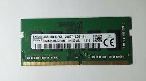 HYNIX 4GB 1x4GB 1Rx16 PC4 2400T HMA851S6CJR6N-UH DDR4 260Pin  Laptop