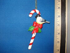 Bird Ornament Chickadee on Candy Cane 68189 218