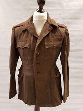 "Cold War USSR Bulgarian Army Soviet Jacket - 100% Wool - Communist Jacket - 36"""