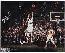 "KEVIN DURANT Autographed Warriors ""Clutch"" 16 x 20 Photograph PANINI LE 135"