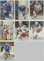 NEW YORK RANGERS ~ 2019-20 Upper Deck Series 1 TEAM SET ~ 7 Hockey Cards STROME