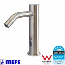 AUTOMATIC SENSOR TAP - Tall Upright - Deck Mounted - Stainless Steel (CAT 67917)