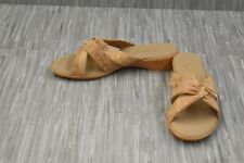 **Onex Sail Cork Wedge Sandals, Women's Size 8, Natural NEW