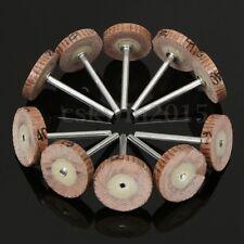 10PCS Sanding Sandpaper Wheel Disc 20mm Flap 240 Grit For Dremel Rotary Tool