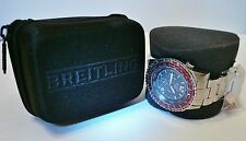 Breitling  Watch Case & Polishing Cloth - Storage, Travel or Return for Service