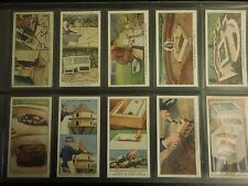 1938 Wills GARDEN HINTS flowers plants Tobacco Cigarette 50 cards complete set