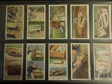 1938 Wills GARDEN HINTS flowers plants Tobacco Cigarette 50 cards complete set
