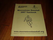 Moorestown Youth Baseball Federation 2007 Yearbook Sports High School Quakers NJ