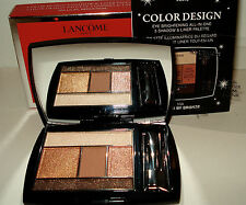 Lancome Color Design  All-in-One 5 Shadow&Liner Palette 104 Kissed By Bronze NIB