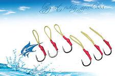 Super tough high carbon steel hooks designed for vertical jig fishing  6xsize7/0