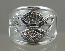 US NAVY Licensed SWCC PATROL OFFICER Ring solid .925 sterling silver size 11