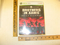 Brothers in Arms Hell's Highway Limited Edition Xbox 360 NO GAME