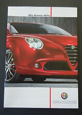 Alfa Romeo MiTo Accessories Brochure (Feb 2012)  DUTCH