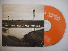 PAUL PERSONNE : PLUS LOIN D'ICI ♦ CD SINGLE PORT GRATUIT ♦