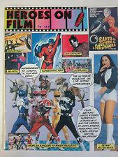 Heroes on Film #2 Superhero Fanzine 1995 Damon Foster Power Rangers Kamen Rider