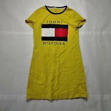 Tommy Hilfiger Womens Short Sleeve Casual Comfort Shirt Dress Size M
