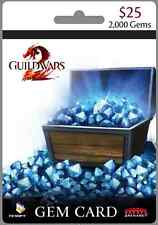 NCSOFT - Guild Wars 2, Gems 2000 Card - PC  [Serial key INSTANT e-delivery]